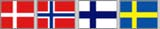 scandinavie drapeaux